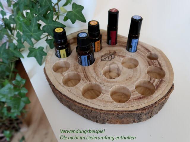 ätherische Öle Aufsteller
